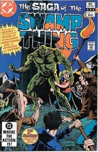 The Saga of Swamp Thing Comic Book #1 DC Comics 1982 FINE+ NEW UNREAD - $6.89