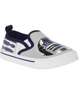 Star Wars Toddler Boys' Canvas Slip-on Sneaker Shoe Sizes 7, 8 or 10 NWT - $9.74