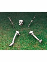 Forum Novelties Up from The Grave Skeleton Party Decoration White - $19.87