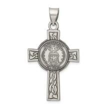 Sterling Silver U.S. Air Force Cross Pendant - $96.99
