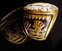 Vintage Baseball Ring - 1977 championship - New York Coach gift -  Yankees image 3