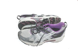 ASICS GEL Venture 3 Trail Running Shoes T283N Womens Size 9 M Black Gray... - $17.82