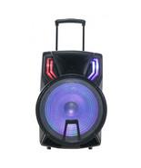NAXA Electronics 15 Inch Portable Party Speaker in Black - $124.03