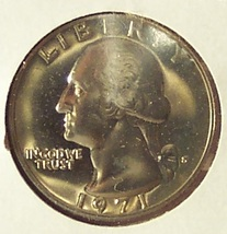1971-S Washington Proof Quarter PF65 #620 - $3.99