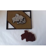 "Wood Hot Rod Carving Wall Hanging Man Cave 11"" x 8 1/2"" - $14.84"