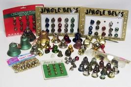 Large Lot Christmas Bells - Jingle Bells - Metal & Plastic - $14.99