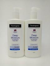 2- Neutrogena Norwegian Formula Deep Moisture Body Lotion Hypoallergenic 13.5oz - $37.97