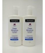 2- Neutrogena Norwegian Formula Deep Moisture Body Lotion Hypoallergenic... - $37.97