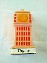 Danbury Mint Spices of the World Thyme England's Big Ben - $16.83