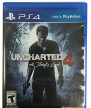 Sony Game Uncharted 4 a thiefs end - $9.99