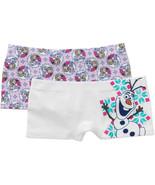 Disney Frozen 2pk Girls Boy Shorts Size Small 4-6 NWT - $9.49