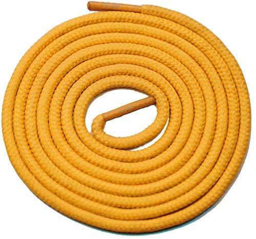 "Primary image for 45"" Yellow 3/16 Round Thick Shoelace For All Soccer Shoes"
