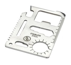 SE MT908-1 11-Function Stainless Steel Survival Pocket Tool - $8.63