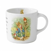 Wedgwood Peter Rabbit Single Handled Child's Mug Bone China New In Box - $16.83