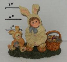 Yesterdays Child Boyds Dollstone Collection Heather Lauren Bunny Helpers... - $49.50