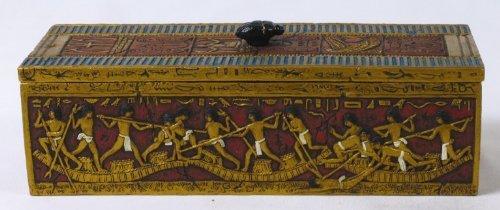 Egyptian Fishermen Trinket Box 7806 - $42.99