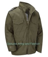 VINTAGE M65 JACKET US MILITARY ARMY FIELD COMBAT - Olive Green - $50.18+