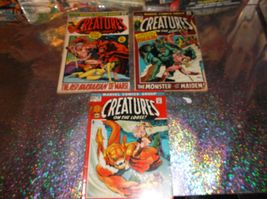 CREATURES ON THE LOOSE THREE BOOK LOT * 1972 * Sword & Sorcery & Horror ... - $10.00