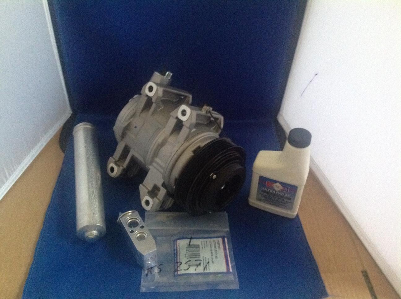 02 06 nissan altima 2.5 ac compressor kit  2