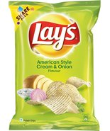 Lay's Potato Chips American Style Cream and Onion Flavour Pack, 95 gram,... - $9.89