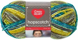 Red Heart Hopscotch Kickball Knitting & Crochet Yarn - $7.00