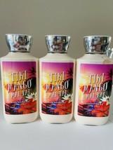 3 New Bath & Body Works Tiki Mango Mai Tai Body Lotion 8oz Full Size - $29.40