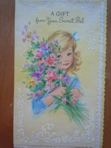 Vintage A Gift From Your Secret Pall Greeting Card Coronation Collection... - $4.99