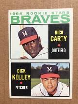 1964 Topps #476 Rico Carty Rookie Baseball Card EX Condition Atlant Brav... - $14.99