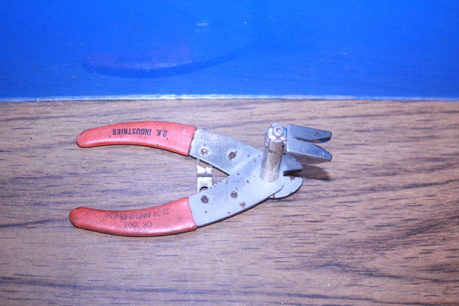 Wire Cut and Strip Tool OK-3907 2224 OK Industrie 0.65 0.50 Wire Stripper Cutter