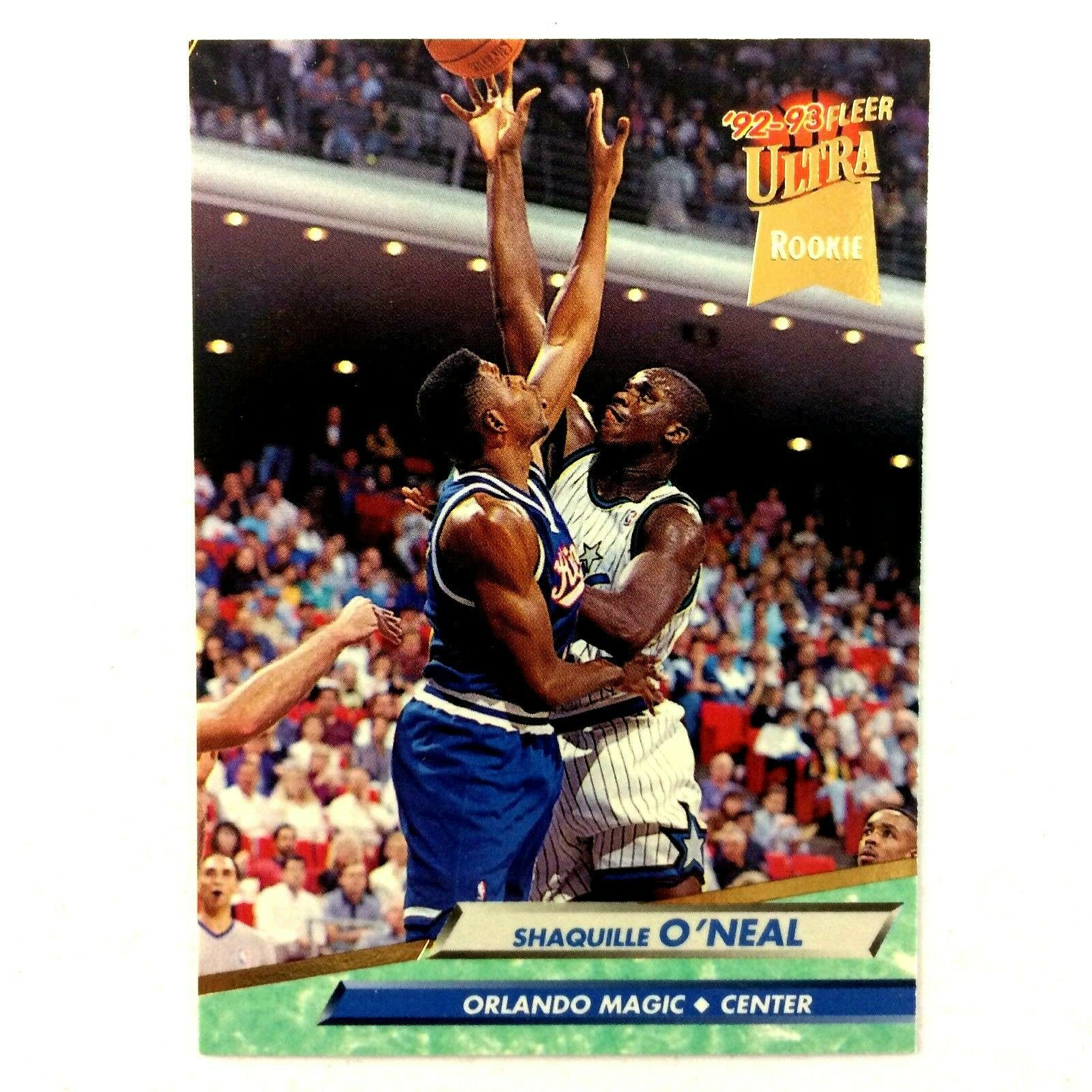 Shaquille O'Neal 1992-93 Fleer Ultra Rookie Card #328 NBA HOF Magic - $7.87