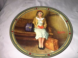 "Norman Rockwell collector plate ""A Young Girl's Dream"" 1985, Knowles    ... - $14.25"