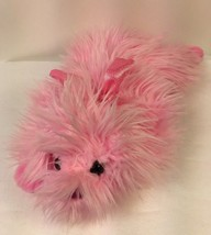"Ty Classic LIL GLOSS Pinkys Dog Plush 15"" Furry Pink Stuffed Animal 2004... - $11.00"