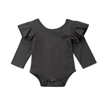 3-18Months Toddler Newborn Kids Baby Girl Casual Romper Flying Sleeve Co... - $9.34