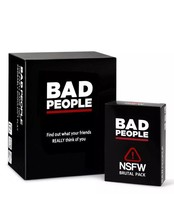 BAD PEOPLE (The Complete Set) The Party Game You Probably Shouldn't Play... - $39.55