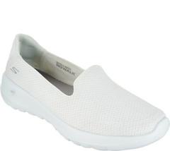Skechers GO Walk Joy Slip-on Shoes - Radiant White 7 W - $39.59