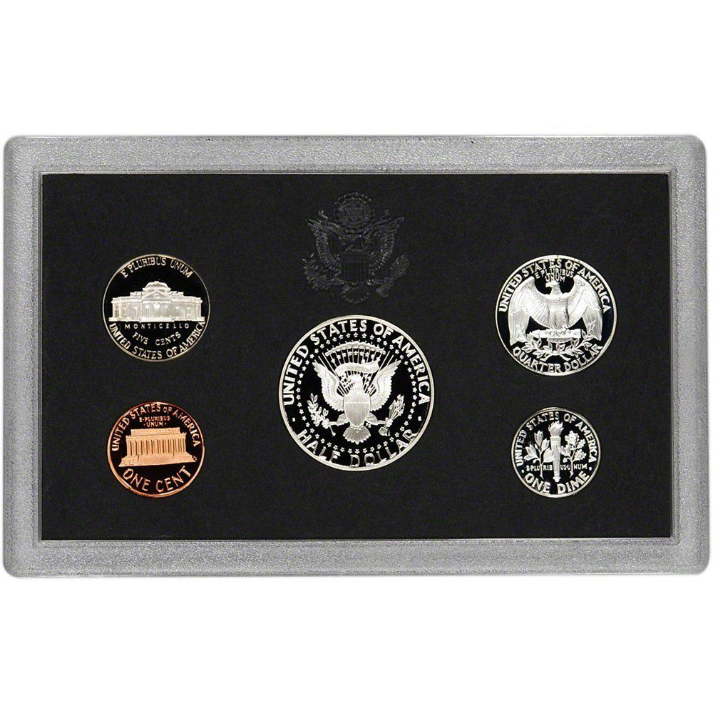 1995-S 90% Silver Proof Set United States Mint Original Government Packaging Box