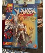 ToyBiz Marvel The Uncanny X-Men X-Force Shatterstar Figure Bent Card - $26.73