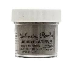 Ranger Embossing Powder, Liquid Platinum
