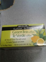 Bigelow Tea- GREEN Tea With Lemon  - 12 Tea Bags - $4.99