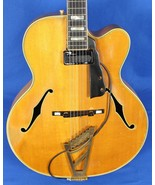 Vintage 1959 D'Angelico New Yorker Arch Top Hollow Body Guitar Flamed Maple - $75,000.00