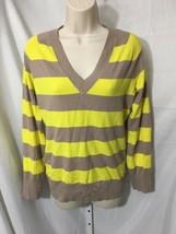 #390--  BCBG Maxazria thin knit sweater top, size L- - $7.66