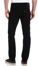 NEW LEVI'S STRAUSS 511 MEN'S ORIGINAL SLIM FIT JEANS PANTS BLACK 511-4406 image 2