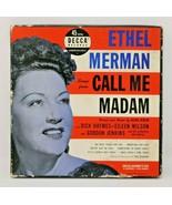 "POP 4-DISC BOX SET ETHEL MERMAN DECCA 9-153  ""CALL ME MADAM"" 45 RPM - $11.76"