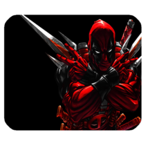 Mouse Pad Marvel Super Heroes American Movie Deadpool Comic For Gaming Fantasy  - $9.00