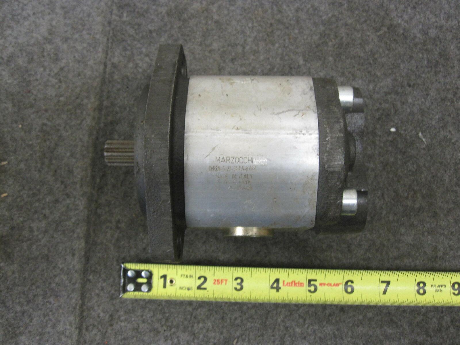 MARZOCCHI HYDRAULIC PUMP GHP2A-S-22-S3-5A-KAFA