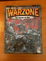 Warzone: The Forces of War  - Paperback Book - $14.95