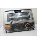 Vintage Robeson Deluxe Toaster Oven - has Clean Tray - Chrome - Works Te... - $45.99