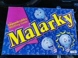 Malarky An Imponderables Bluffing Board Game 2001 Patch EUC - $11.88