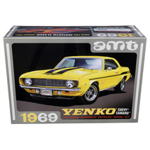 Skill 2 Model Kit 1969 Chevrolet Camaro Yenko 1/25 Scale Model by AMT AM... - $59.66