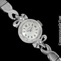 1961 LONGINES Vintage Ladies Dress Watch- 14K W... - $779.10